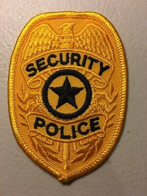 Generic Security Police Department Patch