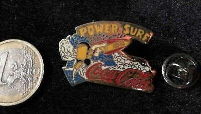 Coca Cola Pin Badge Cocal Cola Sports Power Surf
