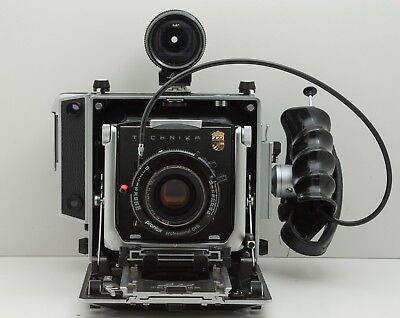 Linhof Technika 4x5 camera with 135mm Apo-Sironar-S lens and other accessories
