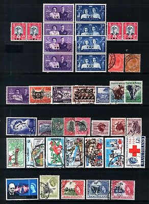 SWA, SOUTH AFRICA, NIGERIA, BASUTOLAND - Mint & used selection as per scan.