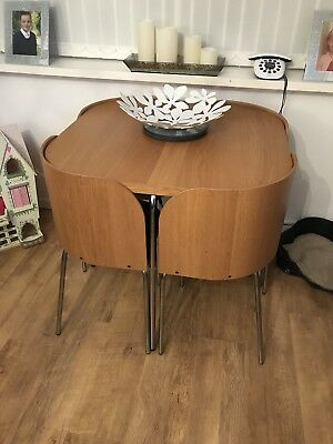 Next Space Saving/Compact Dining Table And Chairs