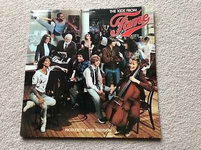 The Kids from Fame soundtrack (BBC RECORDS) on Vinyl