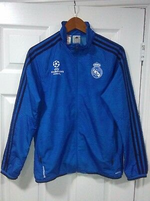 Rare Real Madrid Champions League Jacket. Age 13 -14 years. V.G.C.