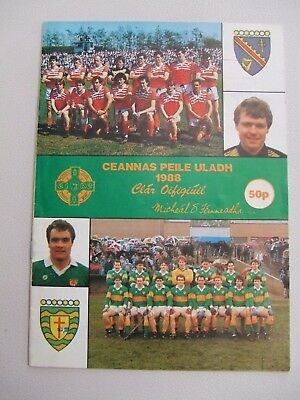 Gaa Ulster Football Championship Programme Armagh V Donegal 1988