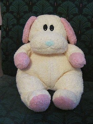 Ty Pillow Pal Pet Dogbaby with Rattle cuddly dog puppy- excellent condition