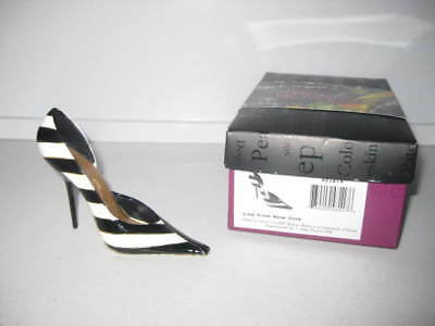 Just the Right Shoe by Raine Live From New York 802814 Complete COA Dept 56