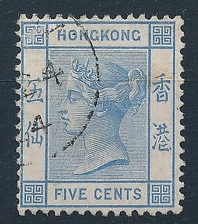 [54135] Hong-Kong 1880 good Used Very Fine stamp $55