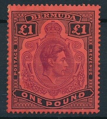 [54163] Bermuda 1934-41 Very good MH Very Fine stamp perf.14 $235