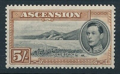 [54216] Ascension Island 1938-44 good MH Very Fine stamp perf 13.5 $85