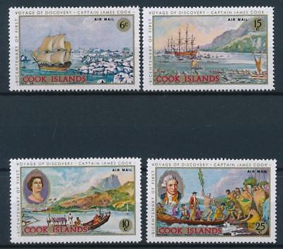 [54871] Cook Islands Airmail 1968 Boats good set MNH Very Fine stamps