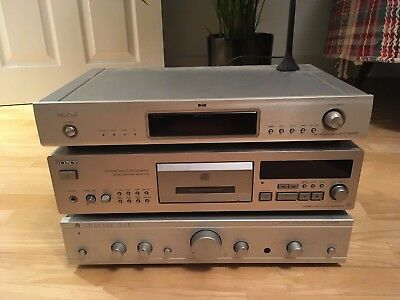 Amp, CD player and DAB tuner
