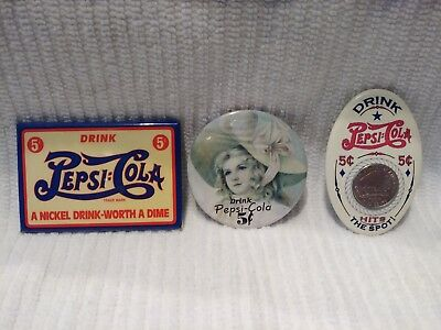 pepsi pocket mirrors