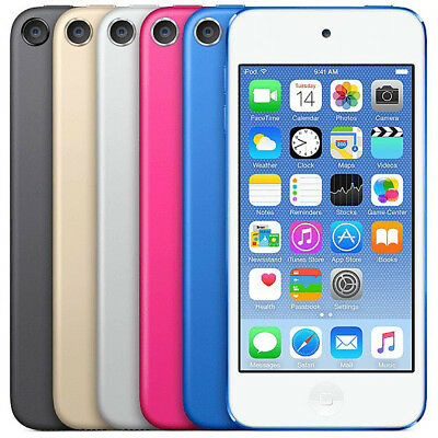Apple Ipod Touch 32gb 6th Generation PINK BLUE GOLD SILVER GRAY New Sealed