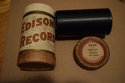 """Edison Cylinder Coon release 2625 """"Nigger in a Fit"""" Rare"""