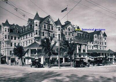 MIAMI  FLORIDA  The Halcyon Hotel  Cnr 12th Street in January 1912