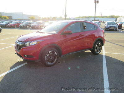 2018 Honda HR-V EX 2WD Manual EX 2WD Manual New 4 dr SUV Manual Gasoline 1.8L 4 Cyl Milano Red