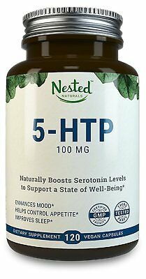 5-HTP 100 mg - Enhance Your Mood, Sleep, Relaxation, Calm, Appetite Control More