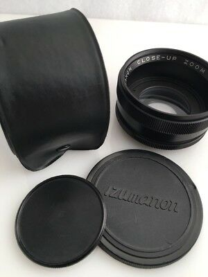 Izumanon Close-Up Zoom Attachment Lens 49mm Or 58mm W/ Case & Adapter