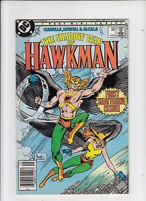 The Shadow War of Hawkman #1 95 cent Canadian Newsstand Price Variant NM-