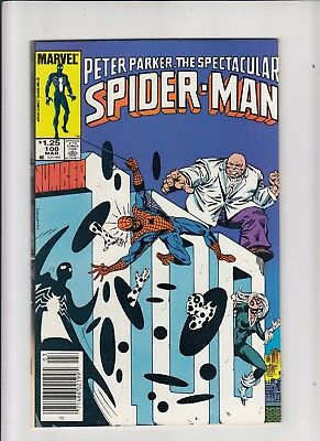 Peter Parker the Spectacular Spider-Man #100 1.25 Canadian Newsstand Price VF