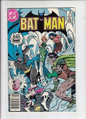 Batman #375 95 Cent Canadian Newsstand Price (CGC recognized variant) fn/vf
