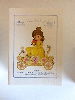 NEW IN BOX Precious Moments Disney Princess Parade Belle (Beauty And The Beast)