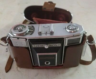 Zeiss Ikon Contessa 35mm Rangefinder Camera w/Zeiss Opton Tessar 45mm f2.8 Lens