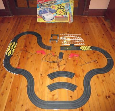 HO Scale Goodyear Electric Racing Set by Life Like Racing