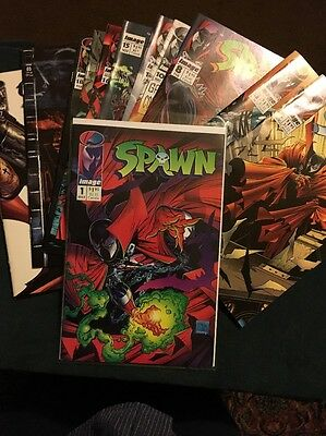 Lot of 6 Spawn Comics * 1,3,6,8,10,11 ***Never Opened , Never Handled ***