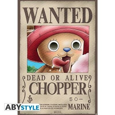 One Piece Chopper Wanted Poster
