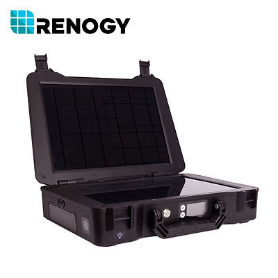 Renogy Phoenix 20W All-in-One Solar Generator Outdoor Battery Charger 5/12/230V