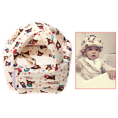 Adjustable Warm Cap Baby Kids Walking Safety Helmet Headguard Head Protector Hat