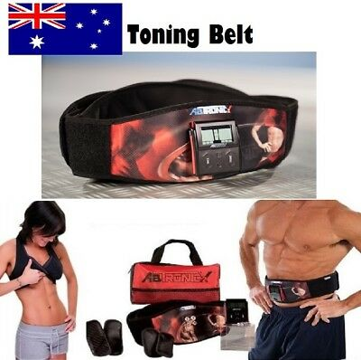 ABS TONING BELT MASSAGER ELECTRO MUSCLE SLIMMING As Seen On TV On Sale