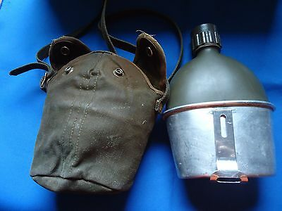Portugal Portuguese Africa War Army Military Canteen With Cook Set Complet