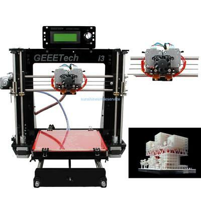 High Precision Auto Leveling 3D Printer 2 Extruder Large Printing Size DIY Kit