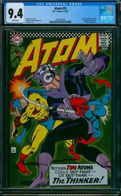 Atom # 29  Can Two Atoms Out-Fight the Thinker ?  CGC 9.4 scarce book !