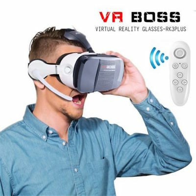 BOX Boss Vr Z5  Virtual Reality Glasses 3D for  Iphone 5 5S 6 6S 7 7Plus 8