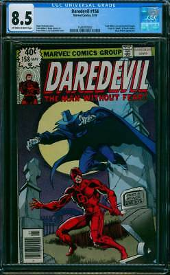 Daredevil # 158  First Frank Miller Issue !  CGC 8.5 scarce book !