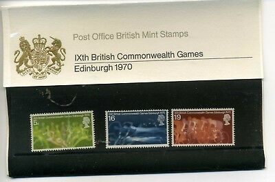 Great Britain Presentation Pack  British Commonwealth Games 1970