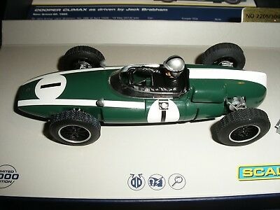 Scalextric - C3658A Cooper Climax JJack Brabham Limited Edition - NEW but
