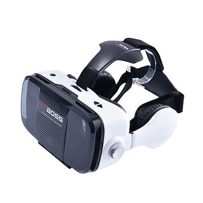 VR BOX Boss 4G  Virtual Reality Glasses 3D for  Iphone 5 5S 6 6S 7 Iphone 8