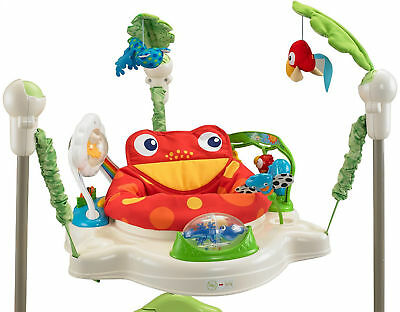 Rainforest Jumperoo Baby Play Gym Activity Educational Learning Center Toy New