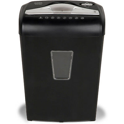 High Security Micro-Cut Paper 8-Sheet Shredder Aurora Break Of Day free shiping