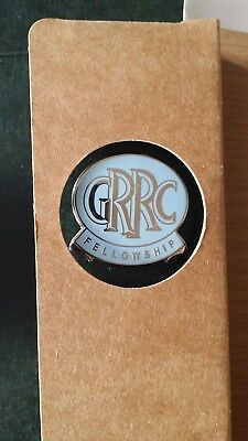 Goodwood Road Racing Club Members Badge and stickers