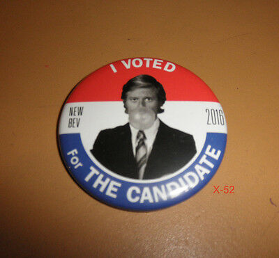 THE CANDIDATE movie NEW BEVERLY promo PIN robert redford