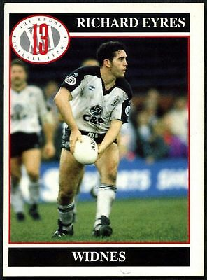 Richard Eyres #118 Widnes Merlin Rugby Football League 1991 Card (C599)