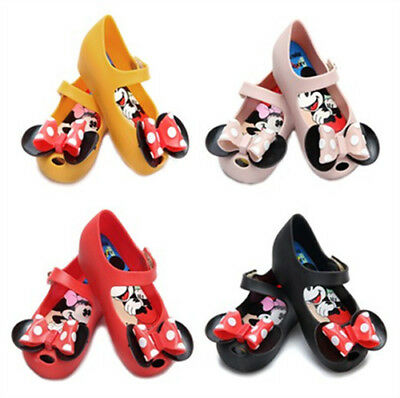 Mini Melissa Shoes Big Ears Bots Bow Sandals Kids Toddler US Size 6-11