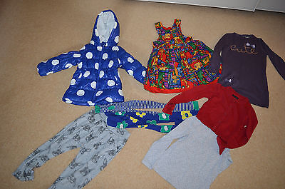 girls clothes bundle 4-5-6 years,coat,tights,tunic top,cardigan
