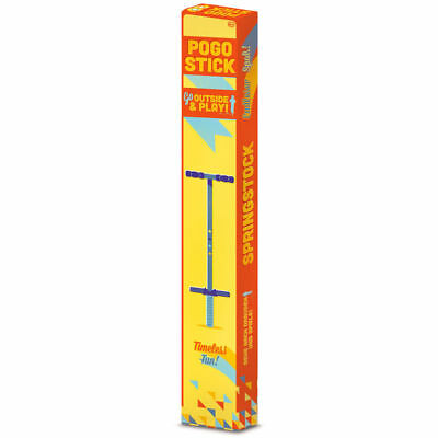 Tobar Pogo Stick 89.5cm Tall Toy Bounce Kids Spring Jump New for Ages 6 Years+