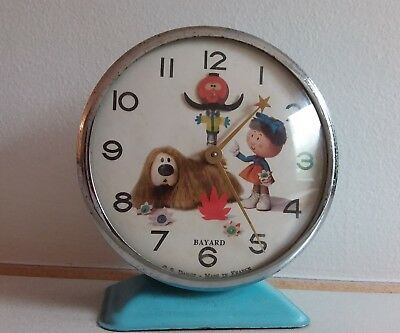 Extremely Rare Magic Roundabout Alarm Clock Vintage Retro